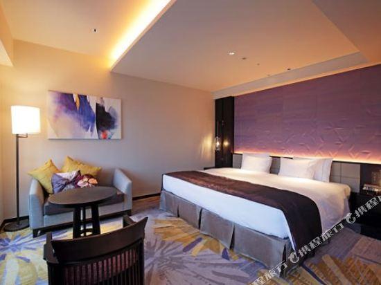 京都四條皇家花園酒店(2018年4月新開業)(The Royal Park Hotel Kyoto Shijo(New Open))豪華大床房(甄選樓層)