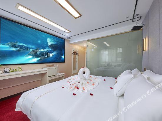 廣州威尼斯特酒店(Wei Ni Si Te Hotel)私享3D影院雙床房