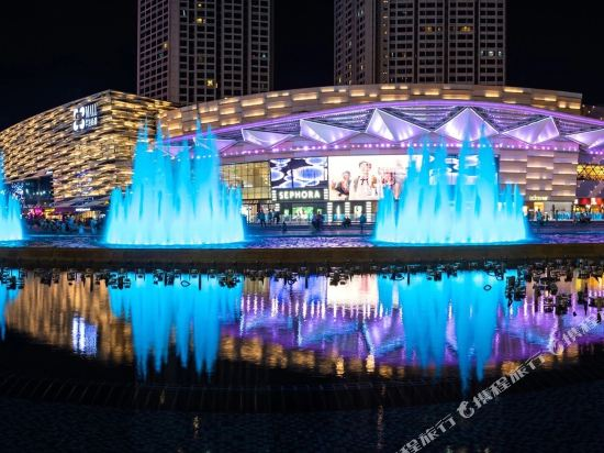 富米國際公寓(珠海華髮商都店)(Fumi Apartment Hotel (Zhuhai Huafa Mall))外觀