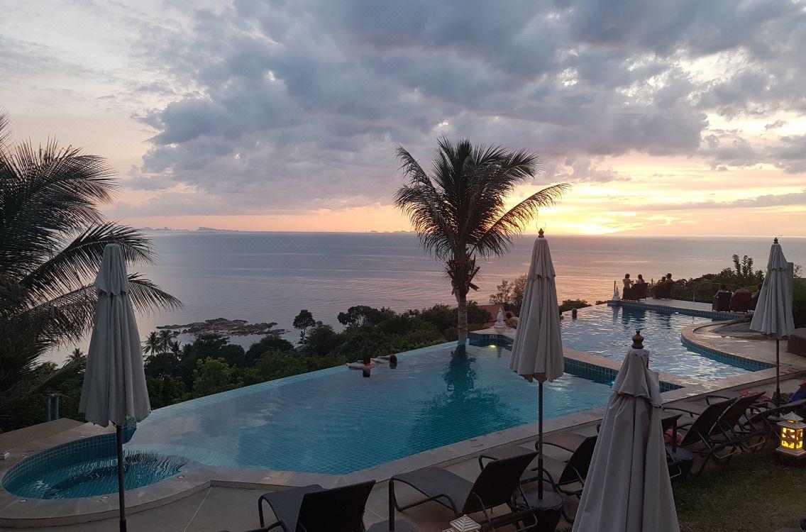 Sunset Hill Boutique Resort Koh Phangan Sunset Viewpoint