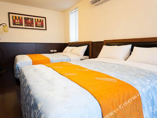 屏東墾丁大街海逸渡假旅店民宿(Haiye Guest House Hostel)經濟四人房