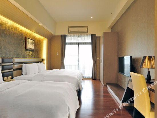 台北大師商旅(Master Hotel)翠波三人房