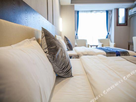 星倫萬達廣場主題公寓(廣州長隆店)(Xinlun Free Hotel International  WanDa)現代主題家庭子母房