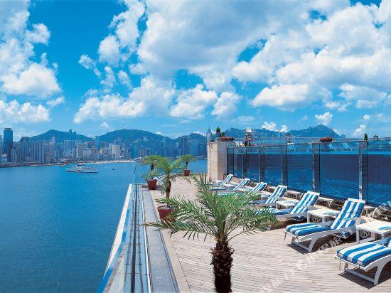 香港九龍海逸君綽酒店(Harbour Grand Kowloon)眺望遠景