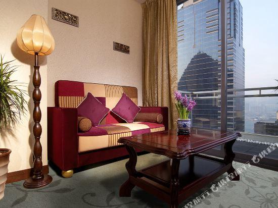 香港蘭桂坊(九如坊)(酒店)(Lan Kwai Fong Hotel Kau U Fong)海景套房