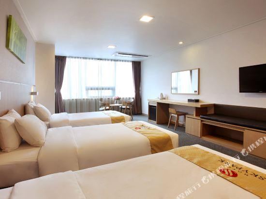 天空花園酒店濟州1號店(Hotel Skypark Jeju 1)三人房