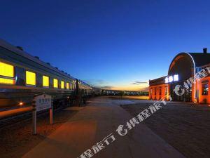 中衞騰格里金沙海沙漠主題火車旅館