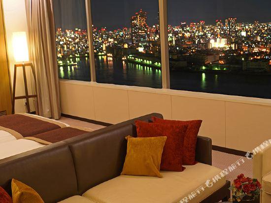 京阪環球塔酒店(Hotel Keihan Universal Tower)豪華家庭房-高樓層