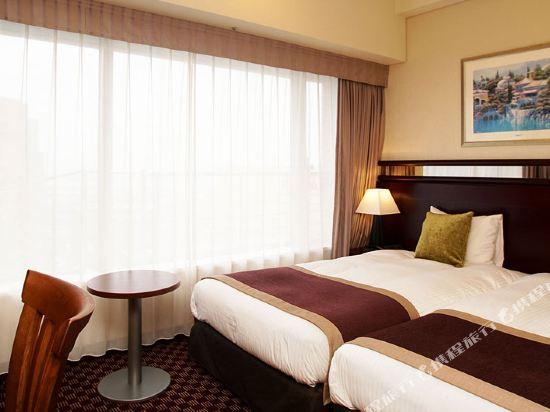 京阪環球塔酒店(Hotel Keihan Universal Tower)塔Grande休閒雙床房