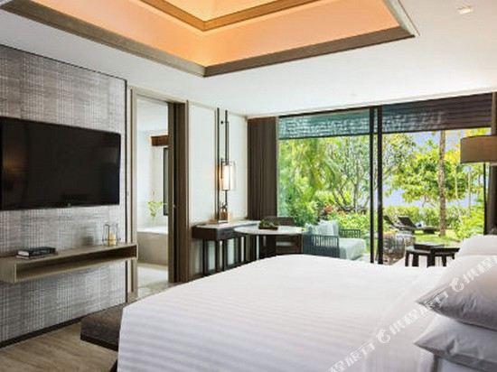 普吉島萬豪奈陽海灘水療度假村(Phuket Marriott Resort and Spa, Nai Yang Beach)沙灘一臥別墅