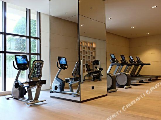 深圳佳兆業萬豪酒店(Shenzhen Marriott Hotel Golden Bay)健身房