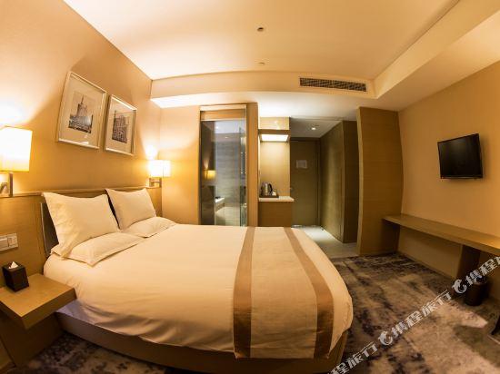 上海徐匯雲睿酒店(Lereal Inn (Shanghai Xuhui))惠選大床房(無窗)
