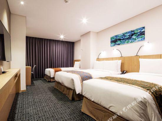首爾帝馬克豪華酒店明洞(Tmark Grand Hotel Myeongdong)標準三人房