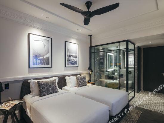 新加坡君樂皇府酒店(Grand Park City Hall Singapore)Deluxe Room - Twin Bed with Bathroom