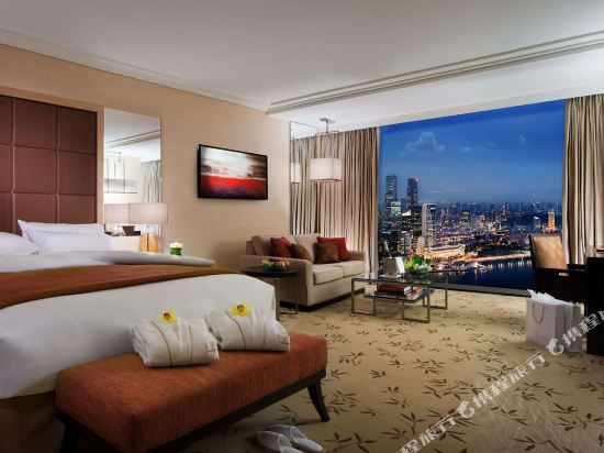 新加坡濱海灣金沙酒店(Marina Bay Sands)市景俱樂部特大床房