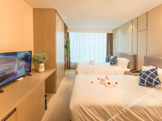 杭州印泰晤士·庭悅酒店(Thames Tingyue Hotel)精品江景雙床房