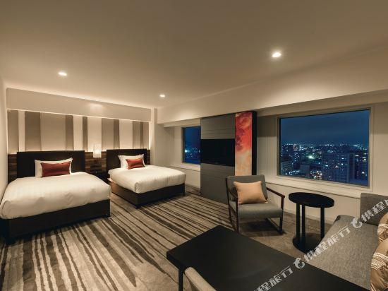 札幌ANA皇冠假日酒店(ANA CROWNE PLAZA SAPPORO)尊貴雙床房