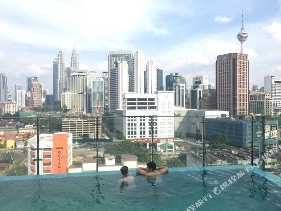 吉隆坡WP酒店(WP Hotel Kuala Lumpur)室外游泳池