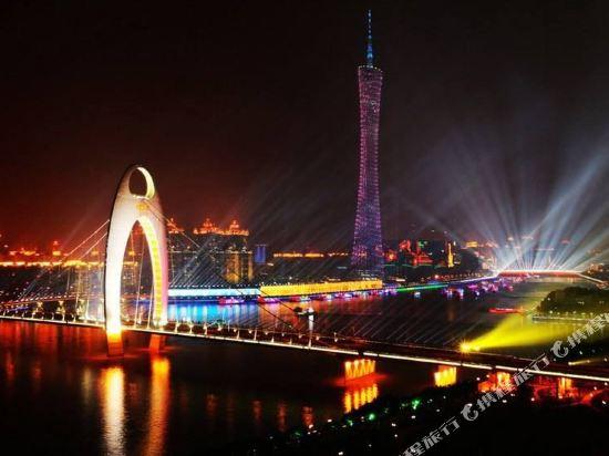 ahotel服務式公寓(廣州漢溪長隆地鐵站店)(A Hotel Serviced Apartment (Guangzhou Hanxi Changlong Metro Station))高級複式大床房