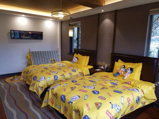 天目湖御湖半島温泉酒店(The Peninsula of Royal Lake Hotels)景觀主題家庭房
