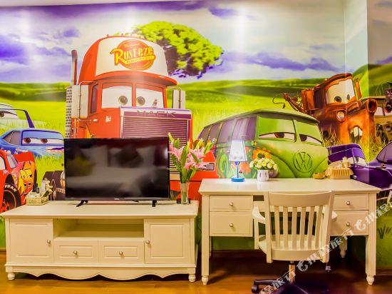 夢幻樂園親子主題公寓(廣州萬達廣場店)(Dreamland Family Theme Apartment (Guangzhou Wanda Plaza))麥昆汽車度假大床房