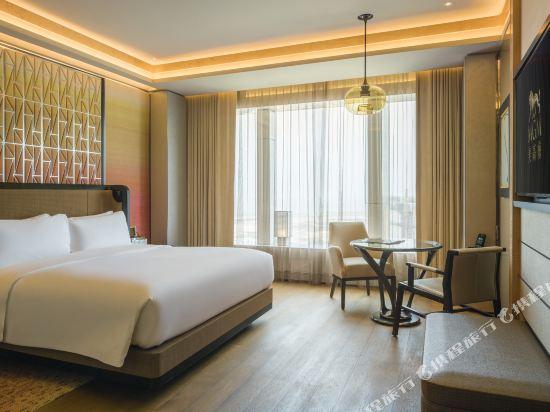 澳門美獅美高梅酒店(MGM Cotai Macau)度假景觀大床客房