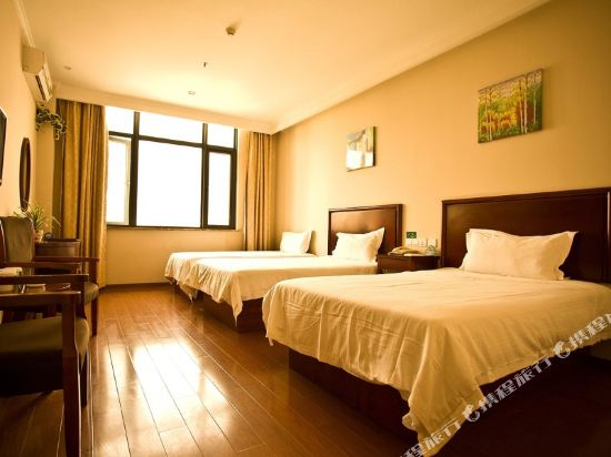 GreenTree Inn Jiangsu Suzhou Qimen North Street Likou Fumiture Market Business Hotel
