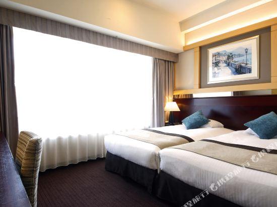 京阪環球塔酒店(Hotel Keihan Universal Tower)休閒雙床房