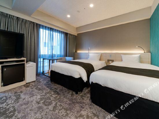 福岡西中洲大和ROYNET酒店(Daiwa Roynet Hotel Fukuoka Nishinakasu)通用雙床房