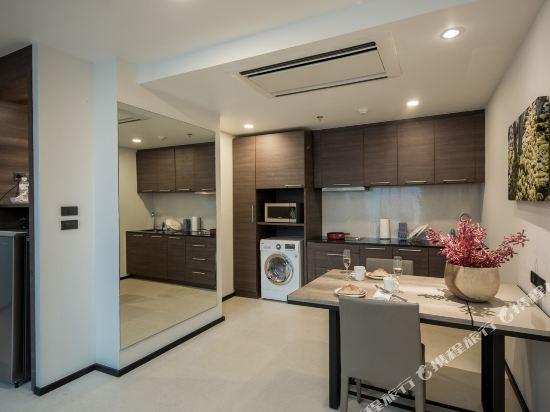 曼谷利特公寓(LiT BANGKOK Residence)三卧室複式套房