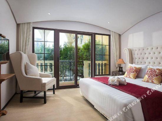 芭堤雅三隻熊威尼斯人公寓(Three Bears, Thailand Pattaya Venetian Apartment)歐式大床房