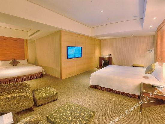 台中烏日清新温泉飯店(Freshfields)温馨雙床套房