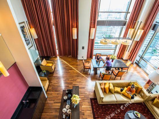 美憬閣索菲特曼谷VIE酒店(VIE Hotel Bangkok - MGallery by Sofitel)二卧室至尊複式套房