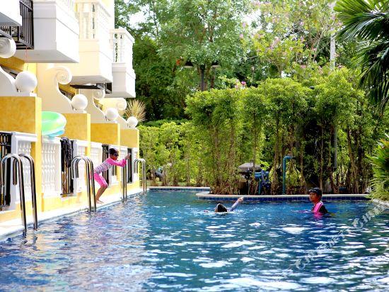 芭堤雅三隻熊威尼斯人公寓(Three Bears, Thailand Pattaya Venetian Apartment)公共區域