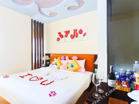 峴港國王手指酒店(King's Finger Hotel Da Nang)高級特大床房