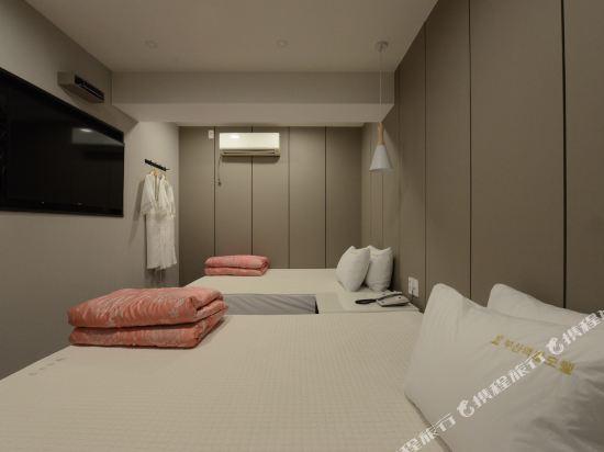 釜山站特級旅館(Top Motel Busan)豪華雙床房