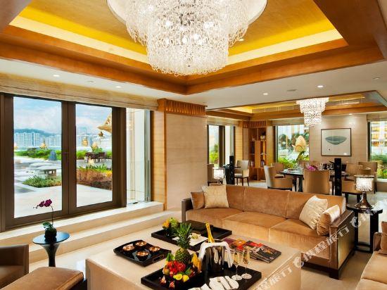 澳門大倉酒店(Hotel Okura Macau)皇家套房 - 住客可使用休息室