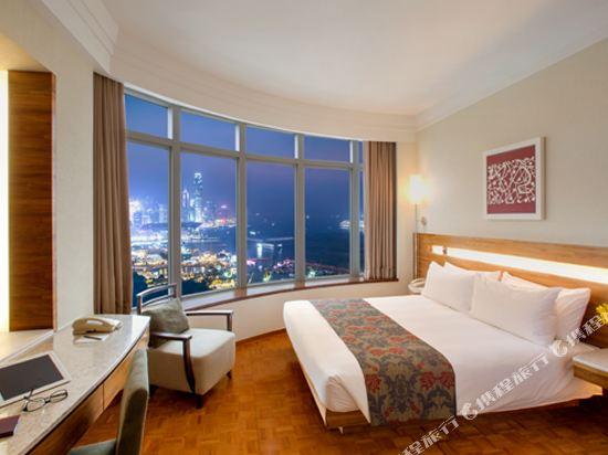 香港如心銅鑼灣海景酒店(L'hotel Causeway Bay Harbour View Hong Kong)海景套房