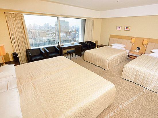 東京巨蛋酒店(Tokyo Dome Hotel)四人房