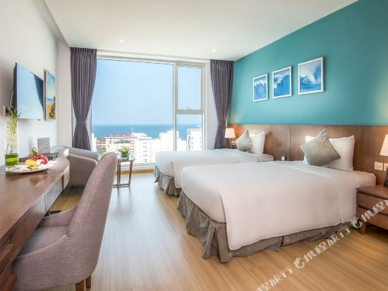 峴港皇家蓮花酒店(Royal Lotus Hotel Da Nang Managed by H&K Hospitality)Deluxe-Twin-Sea-view