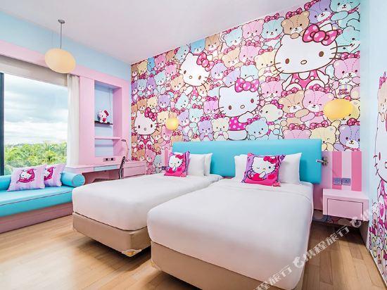 新山香格里拉公主港今旅酒店(Hotel Jen Puteri Harbour Johor Bahru by Shangri-La)Hello Kitty豪華主題房