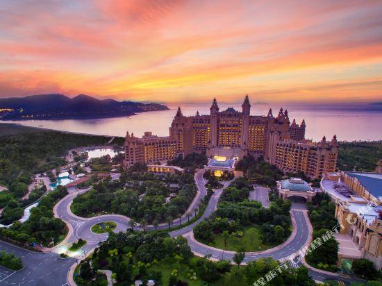 長隆橫琴灣酒店(珠海海洋王國店)(Chimelong Hengqin Bay Hotel (Zhuhai Dolphin Flagship Store))眺望遠景