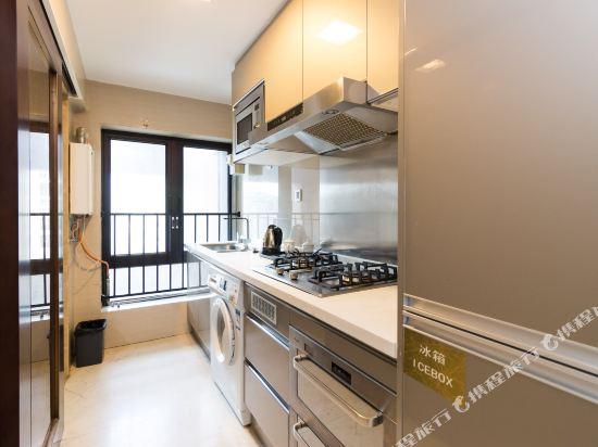 廣州臨江上品維福頓公寓(琶洲會展中心店)(Linjiang Shangpin Weifudun Apartment (Pazhou Complex))豪華兩房一廳