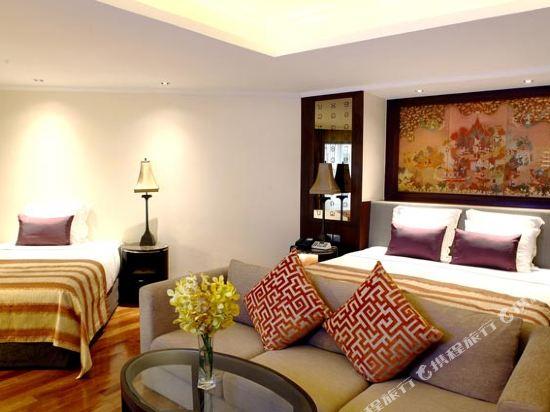 曼谷河畔安納塔拉度假酒店(Anantara Riverside Bangkok Resort)家庭套房