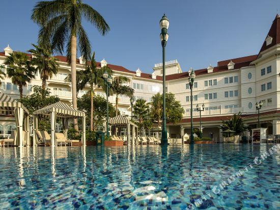 香港迪士尼樂園酒店(Hong Kong Disneyland Hotel)室外游泳池