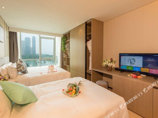 杭州印泰晤士·庭悅酒店(Thames Tingyue Hotel)庭悅江景雙床房