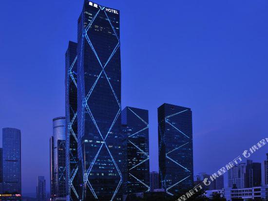 深圳皇庭V國際公寓(原皇庭禮尚公寓)(Wongtee V International Apartment)外觀