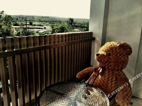 墾丁水漾會館(Aqua Hostel)觀景雙人房