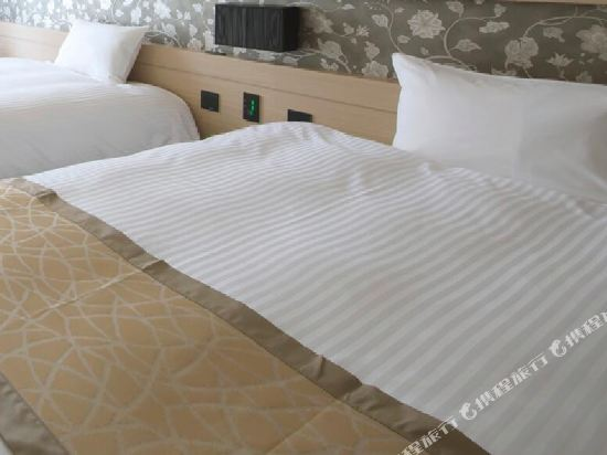 京阪澱屋橋酒店(Hotel Keihan Yodoyabashi)雙床一室房
