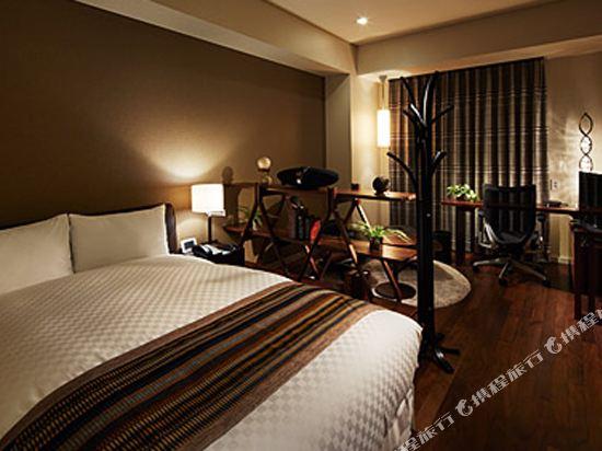 東京汐留皇家花園酒店(The Royal Park Hotel Tokyo Shiodome)標準雙人床房-SOHO風格-IDC OTSUKA設計(概念樓層)